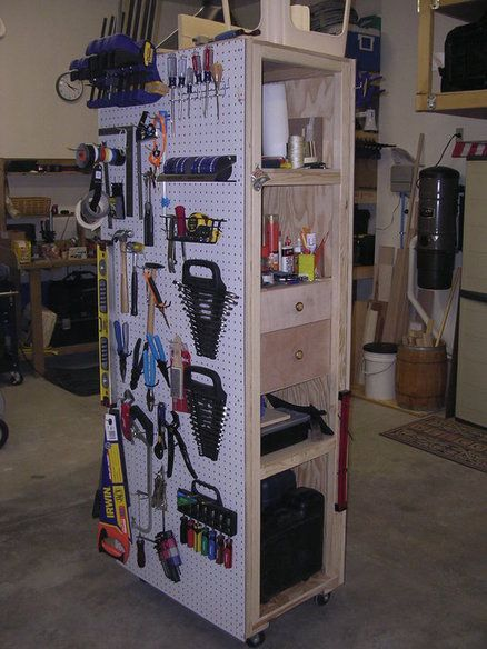 Garage Storage Tool Rack